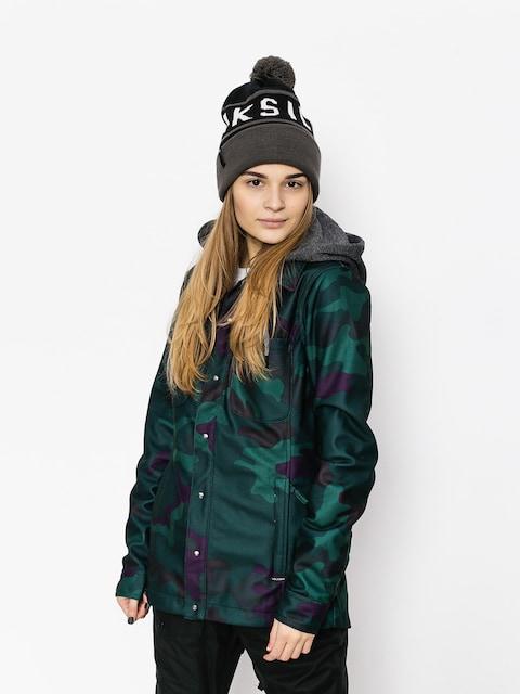 Kurtka snowboardowa Volcom Circle Flannel Wmn