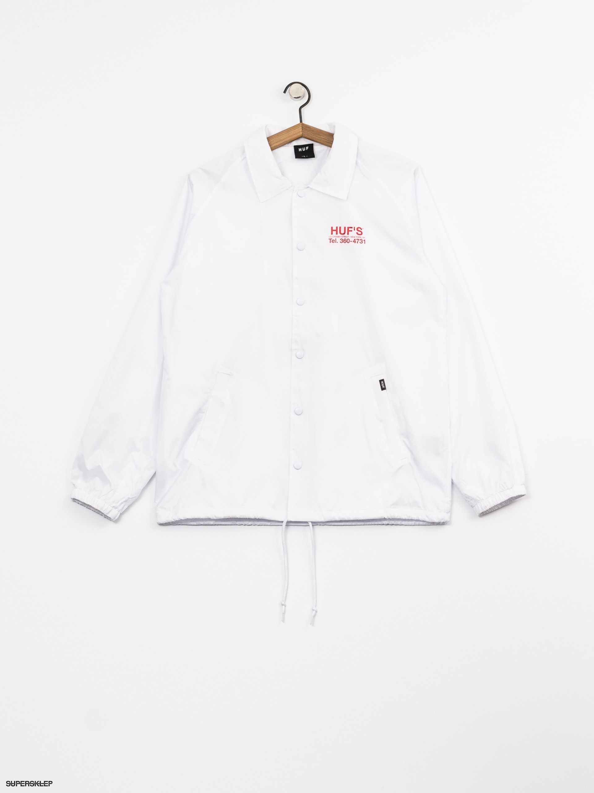 Kurtka HUF Hufs Pizza (white)