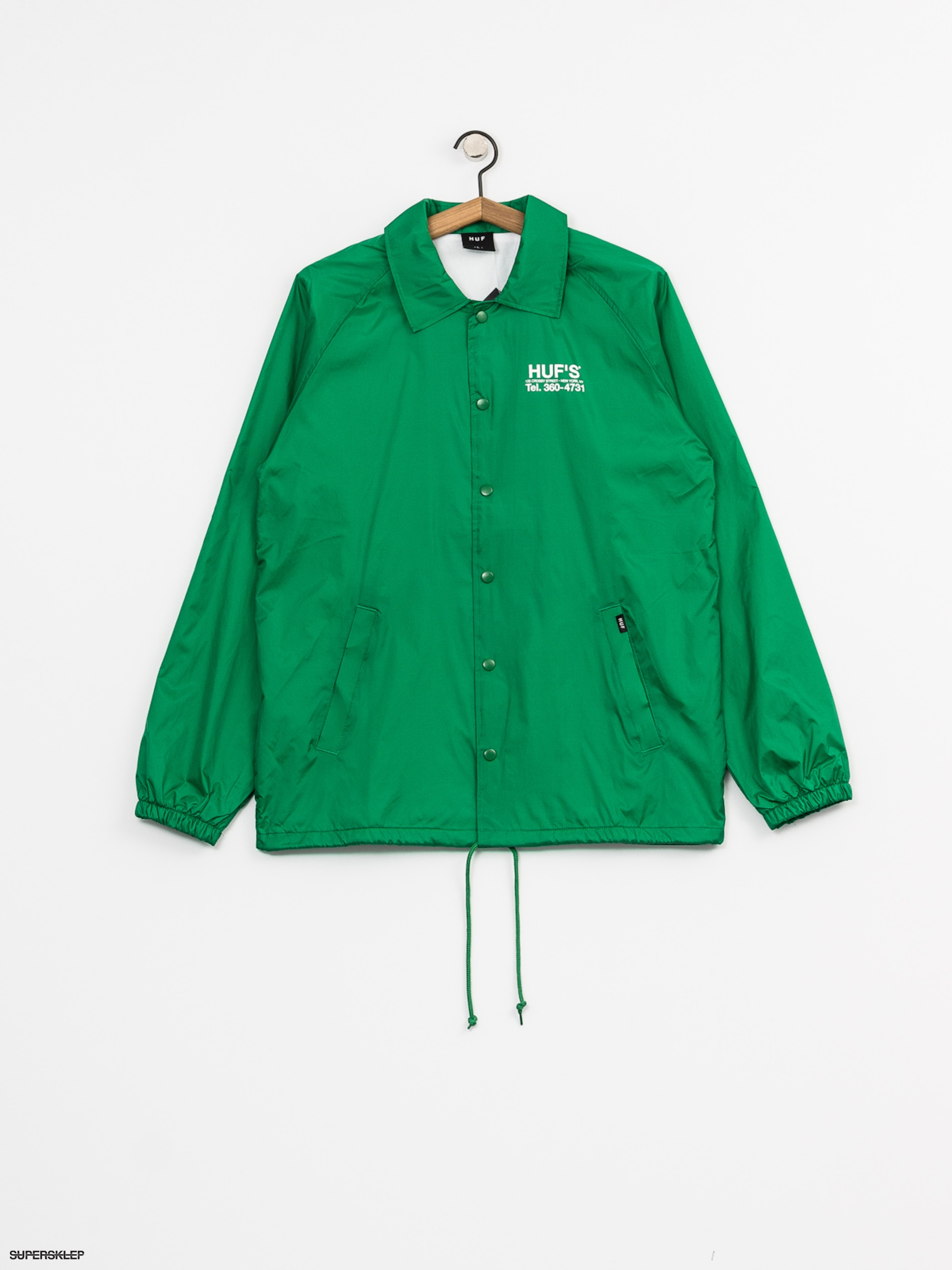 Kurtka HUF Hufs Pizza (green)