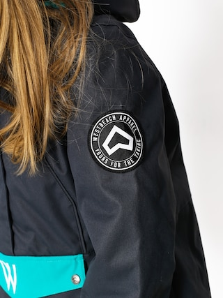 Kurtka snowboardowa Westbeach Melody Overhead Jacket Wmn (steel/dark teal)