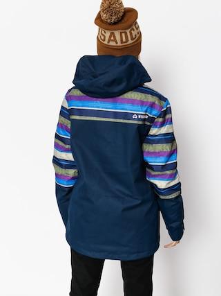 Kurtka snowboardowa Westbeach Waltz Jacket Wmn (ultramarine/multi colour aztec)