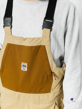 Spodnie snowboardowe ThirtyTwo Basement Bib (tan)