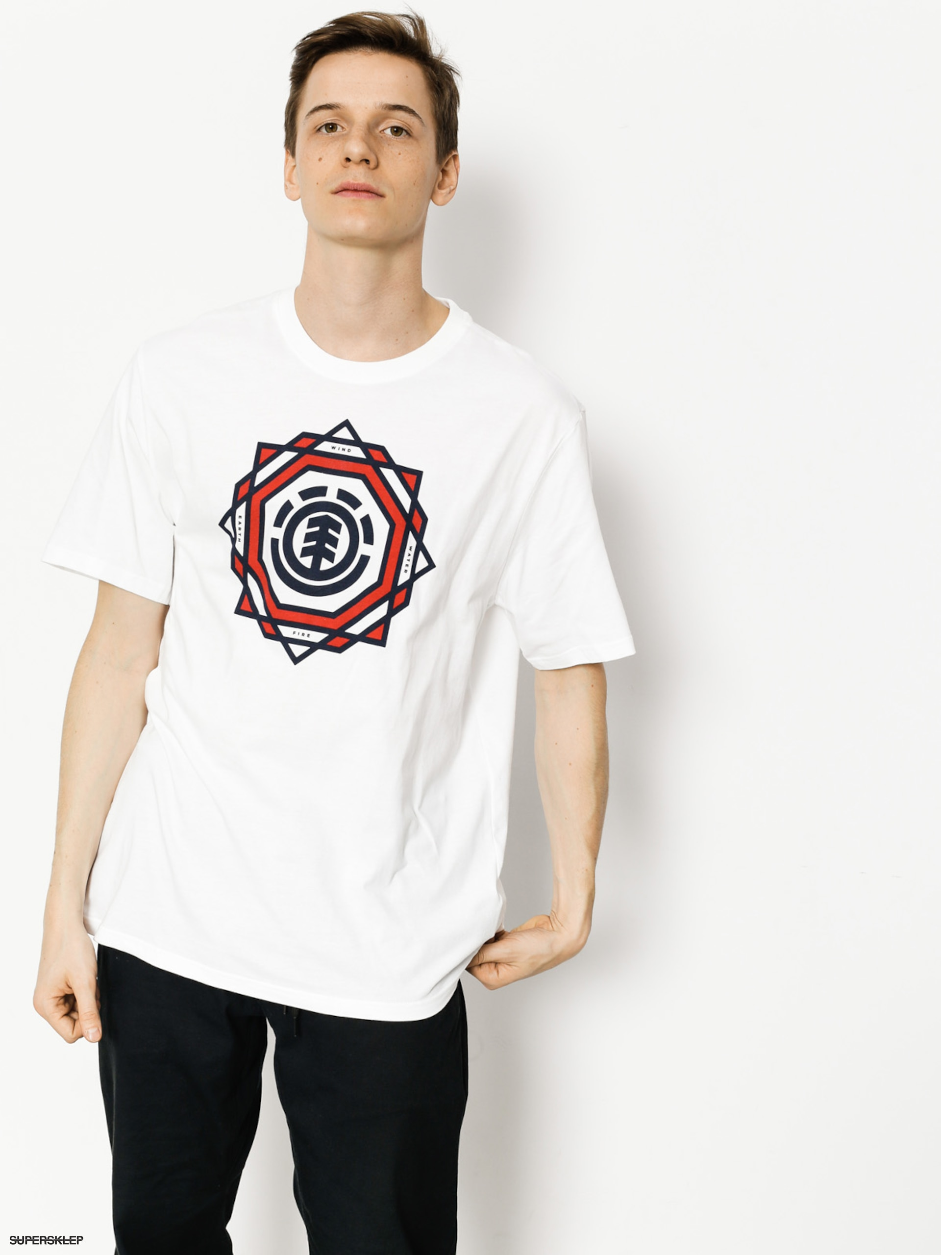 T-shirt Element Spectrum (optic white)