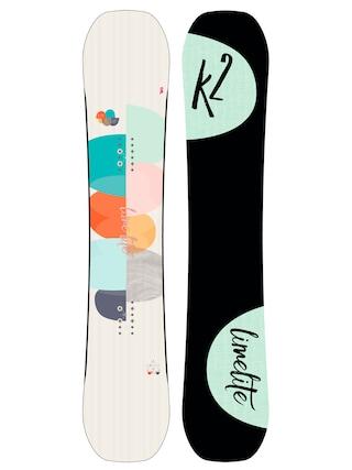 Deska snowboardowa K2 Lime Lite Wmn (black/lime)