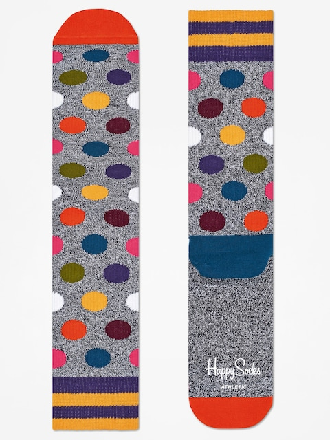 Skarpetki Happy Socks Athletic Big Dot (grey/multi)