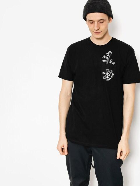 T-shirt ThirtyTwo Hood Rats Hood Or Bust Pocket (black)