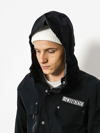 Kurtka snowboardowa Westbeach Trojan Jacket (black/steel check)