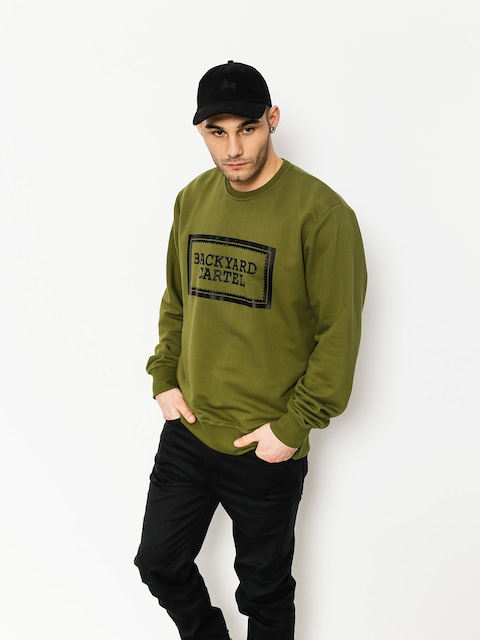 Bluza Backyard Cartel Label Logo (khaki)