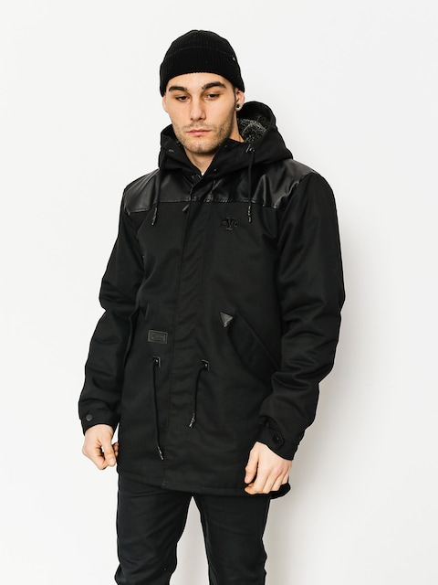 Kurtka Backyard Cartel Parka Long Fit (black)