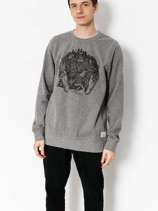Bluza Element Found Crew (grey heather)