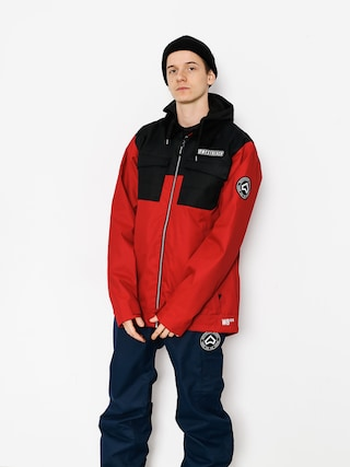 Kurtka snowboardowa Westbeach Dauntless Jacket (chilli red/black)