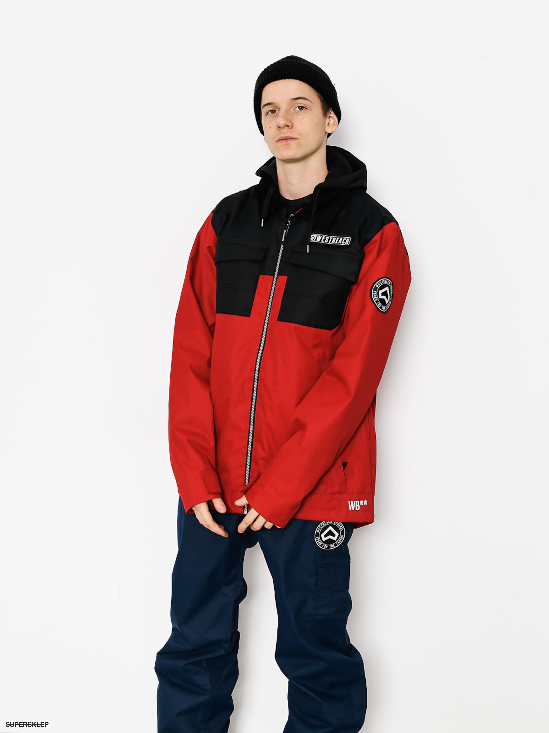 Męska Kurtka snowboardowa Westbeach Dauntless Jacket (chilli redblack)