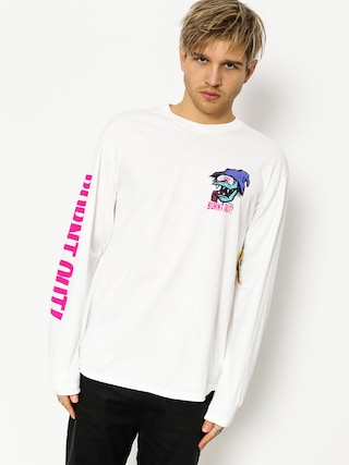 Longsleeve Brixton Burnt Out Stt (white)