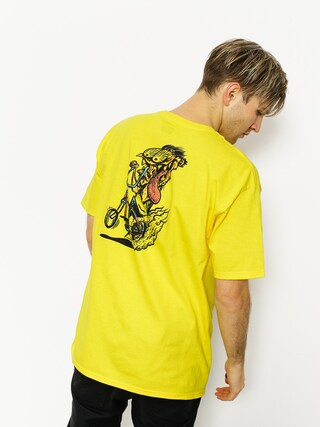 T-shirt Brixton What Brakes Stt (yellow)