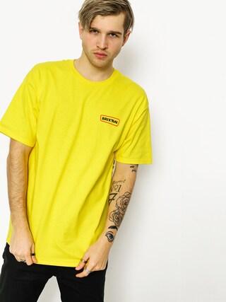 T-shirt Brixton What Brakes Stt (yellow)