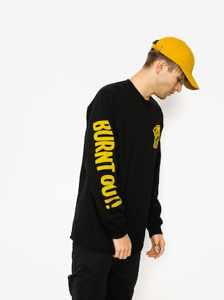 Longsleeve Brixton Burnt Out Stt (black)