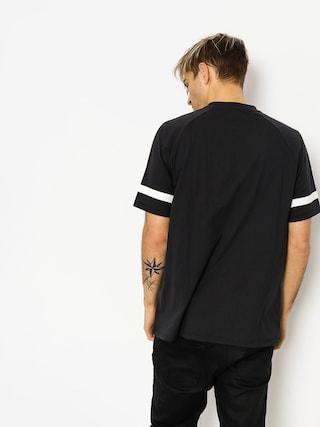T-shirt Brixton Malden (washed black)