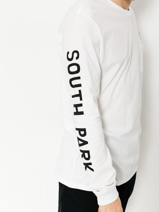 Longsleeve HUF Sp Mr Hanky Pocket (white)