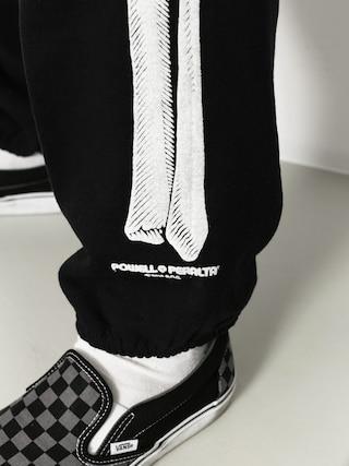 Spodnie Powell Peralta Leg Bones (black)