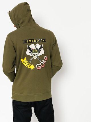 Bluza z kapturem Emerica Atom Tan ZHD (olive)