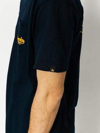 T-shirt Emerica Destroy Pocket (navy)