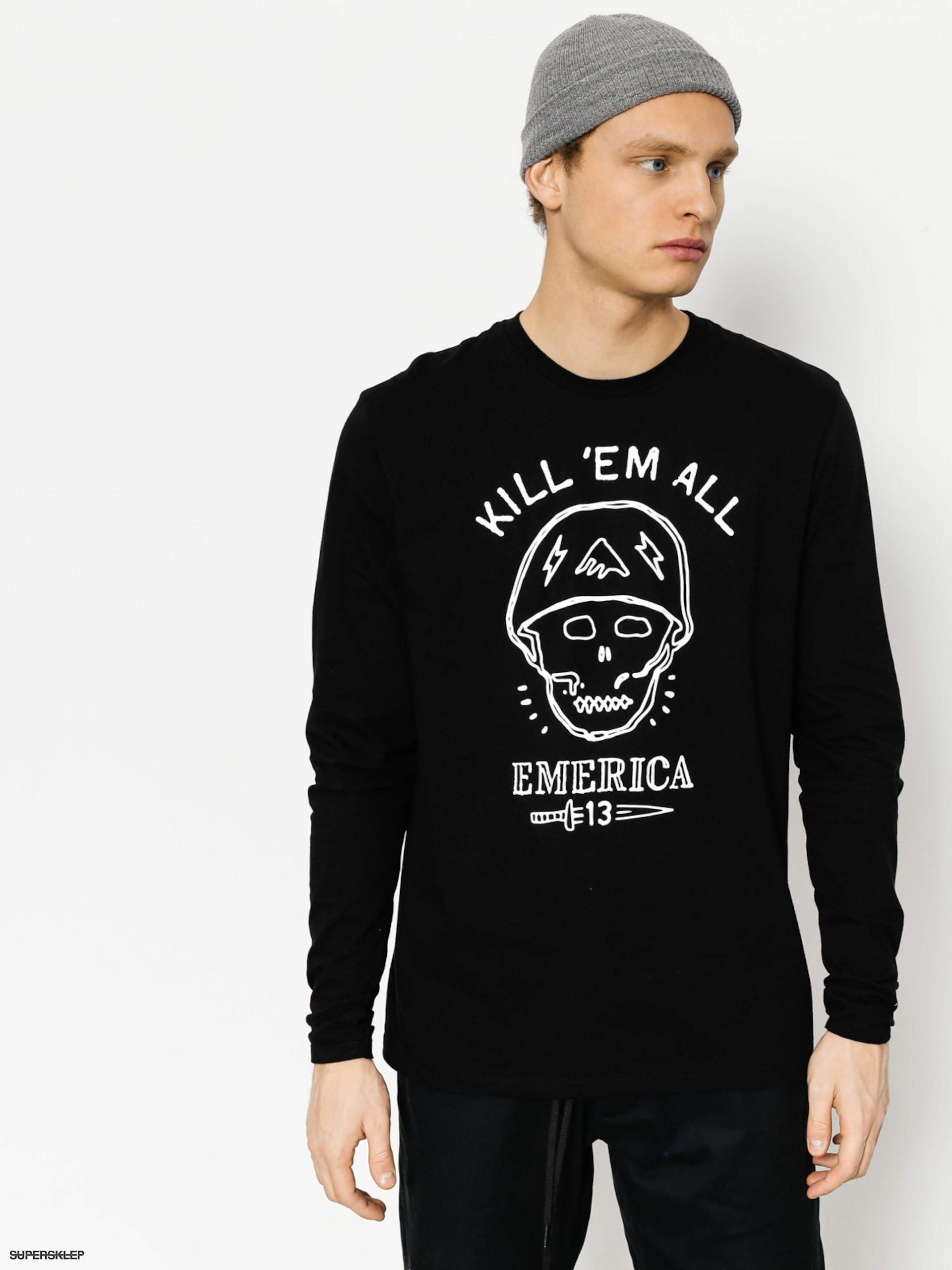 Longsleeve Emerica Kill Em All (black)
