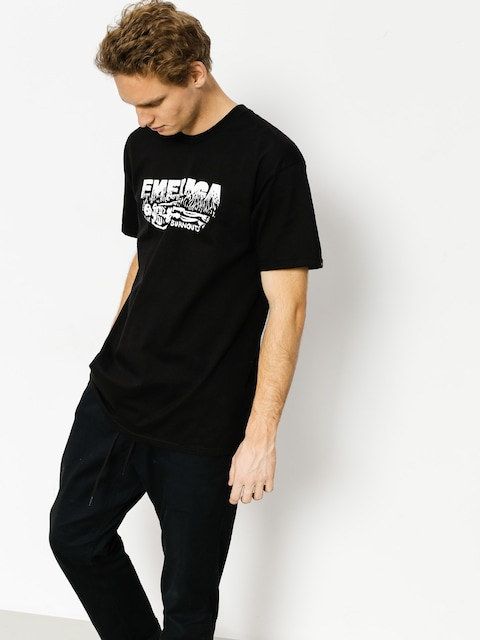 T-shirt Emerica Burnout (black)