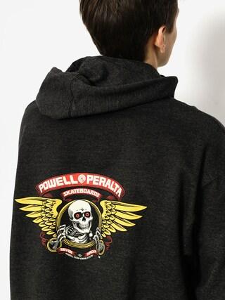 Bluza z kapturem Powell Peralta Winged Ripper HD (charcoal)
