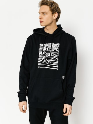 Bluza z kapturem Volcom Team Art (blk)