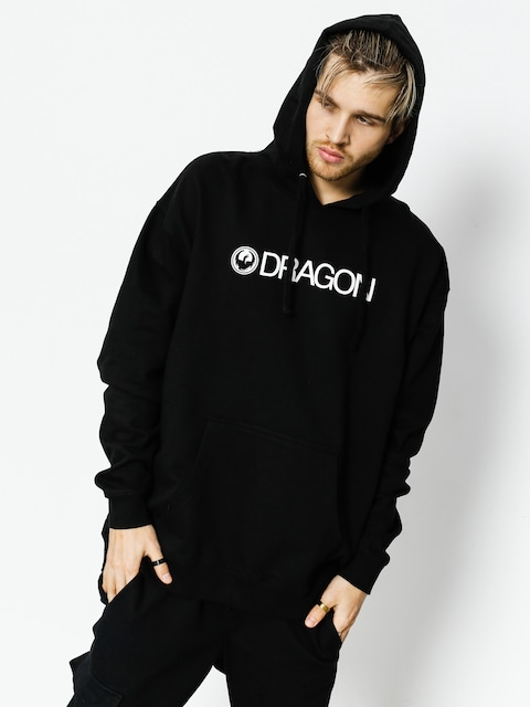 Bluza z kapturem Dragon Trademark Hood Staple Line (black)