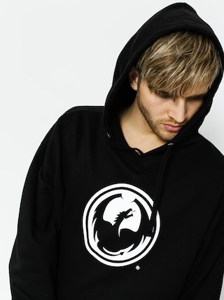 Bluza z kapturem Dragon Icon Pullover Hood Staple Line (black)