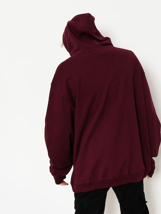 Bluza z kapturem Grizzly Griptape Riveted HD (burgundy)