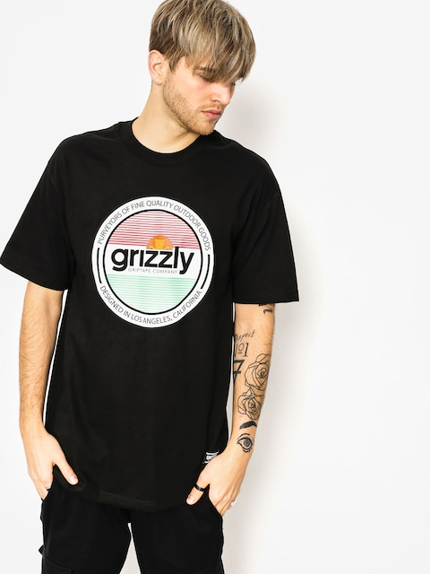 T-shirt Grizzly Griptape Off The Field (black)