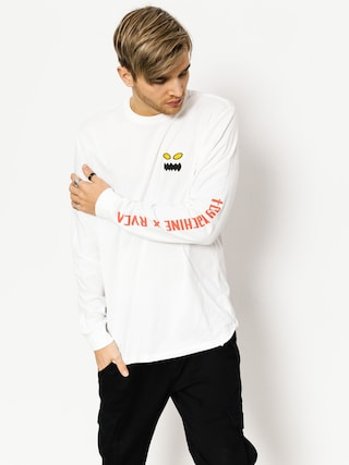 Longsleeve RVCA Toy Machine X Rvca L (white)