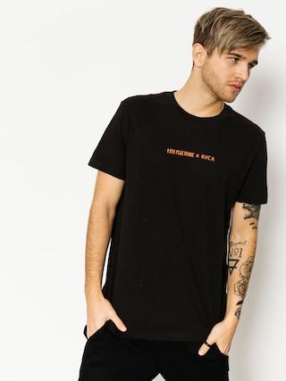 T-shirt RVCA Toy Machine Surfer S (pirate black)