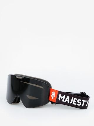 Gogle Majesty The Force (black/black pearl lens citrine spare lens)