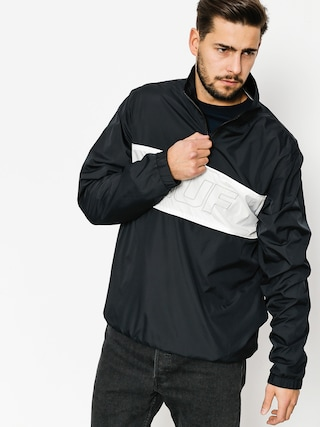 Kurtka HUF Jacket Stadium Half Zip Track (black)