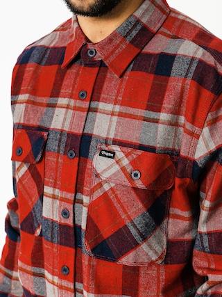 Koszula Brixton Bowery Ls (red/heather grey/navy)