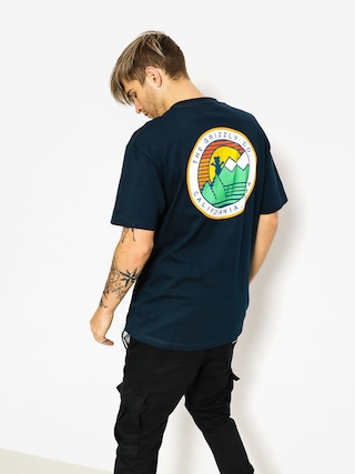 T-shirt Grizzly Griptape Beyond The Bush (navy)