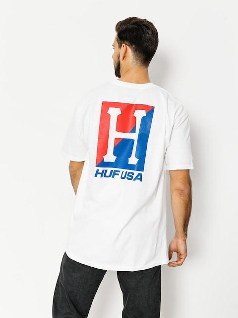 T-shirt HUF Stadium Relay (white)