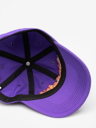 Czapka z daszkiem Thrasher Flame Old Timer (purple)
