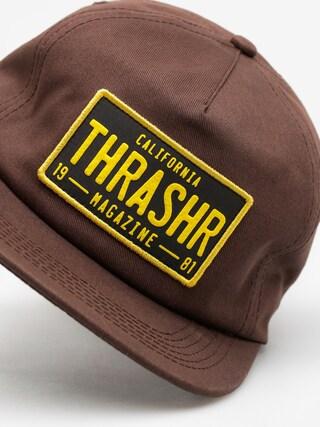 Czapka z daszkiem Thrasher Dmv Snap (brown)