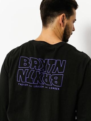 Longsleeve Brixton Vitus Prem (washed black)