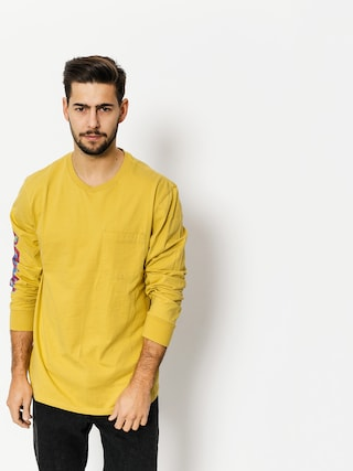 Longsleeve Brixton Accelerate Pkt (washed yellow)