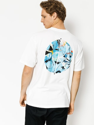 T-shirt Polar Skate Escape Route Fill Logo (white)