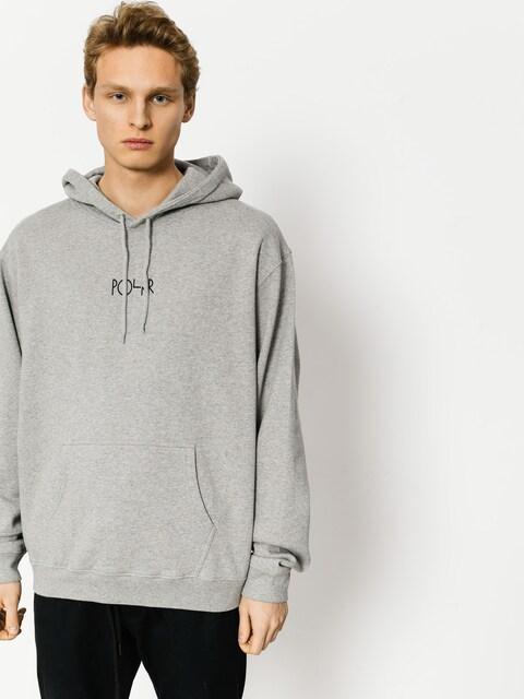 Bluza z kapturem Polar Skate American HD (grey heather)