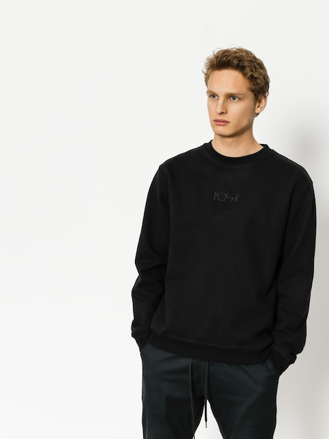 Bluza Polar Skate Heavyweight Default Crewneck (black)