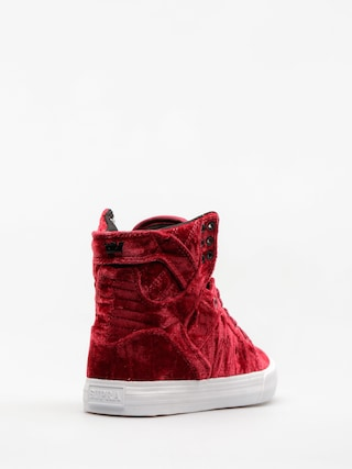 Buty Supra Skytop Wmn (dark ruby/white)