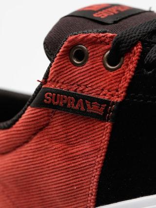 Buty Supra Stacks Vulc II (black/cayenne)