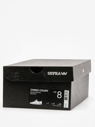 Buty Supra Chino Court (black/white)